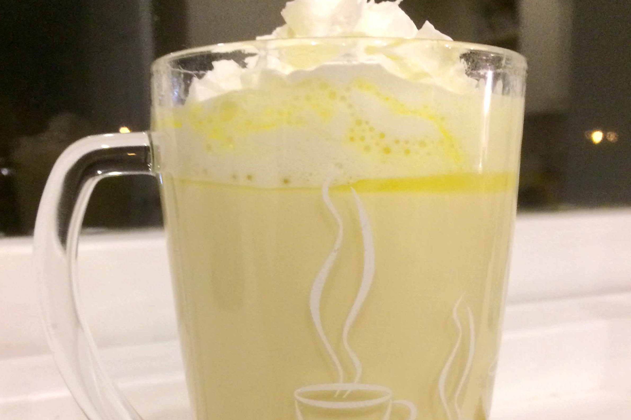 Valencia Orange White Hot Chocolate Recipe